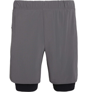 "saucony Doubleback 7"" 2-1 Shorts Herren grau grau"