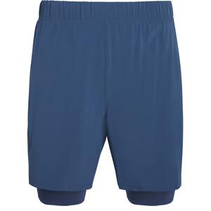 """saucony Doubleback 7"""" 2-1 Shorts Herren blau blau"""
