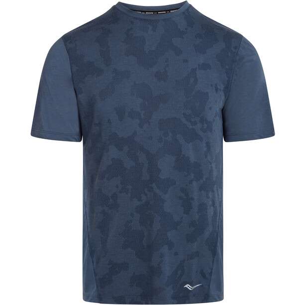 saucony Ramble Short Sleeve Men, bleu
