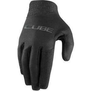 Cube Performance Long Finger Gloves, black black