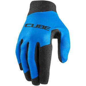 Cube Performance Long Finger Gloves, blue blue