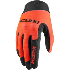 Cube Performance X Actionteam Langfinger-Handschuhe Kinder schwarz/orange schwarz/orange