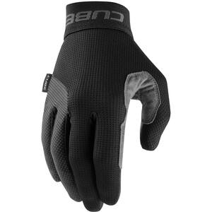 Cube Pro Long Finger Gloves, noir/gris noir/gris
