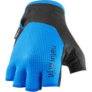 Cube X NF Short Finger Gloves, noir/bleu noir/bleu