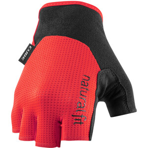 Cube X NF Short Finger Gloves, red red