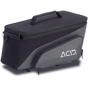 Cube ACID Trunk 8+7 RlLink Cykeltaske, sort/grå sort/grå