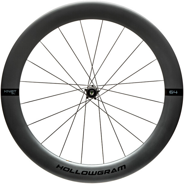 Cannondale HollowGram SL 64 KNOT CL Front Wheel 100x12, musta