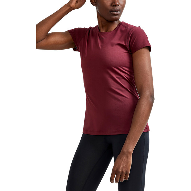 Craft ADV Essence SS Slim Tee Women röd