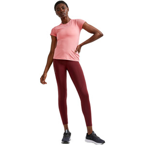 Craft ADV Essence Kurzarm Slim T-Shirt Damen coral coral