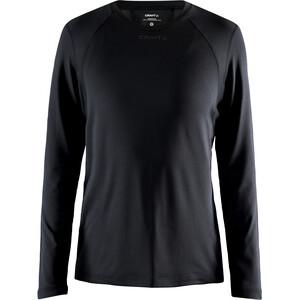 Craft ADV Essence Langarm T-Shirt Damen schwarz schwarz