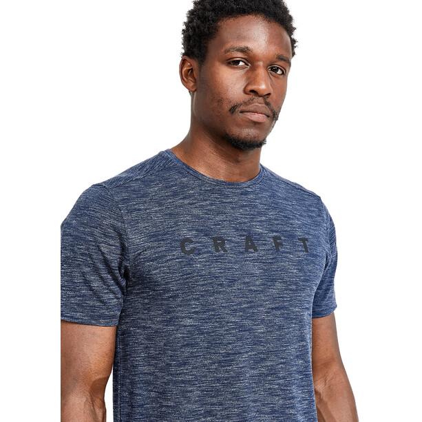 Craft Core Sence Kurzarm T-Shirt Herren blau