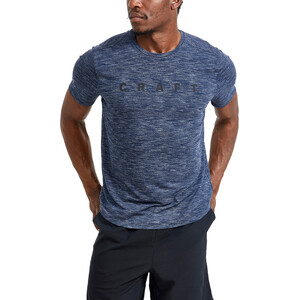 Craft Core Sence Kurzarm T-Shirt Herren blaze/melange blaze/melange