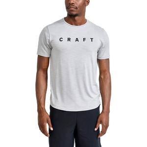 Craft Core Sence Kurzarm T-Shirt Herren whisper/melange whisper/melange