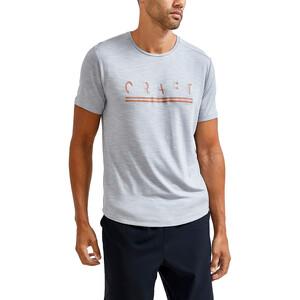 Craft Core Sence Kurzarm T-Shirt Herren grey melange grey melange