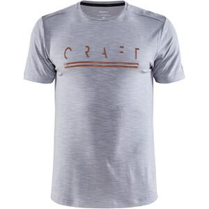 Craft Core Sence SS Tee Men, grijs grijs