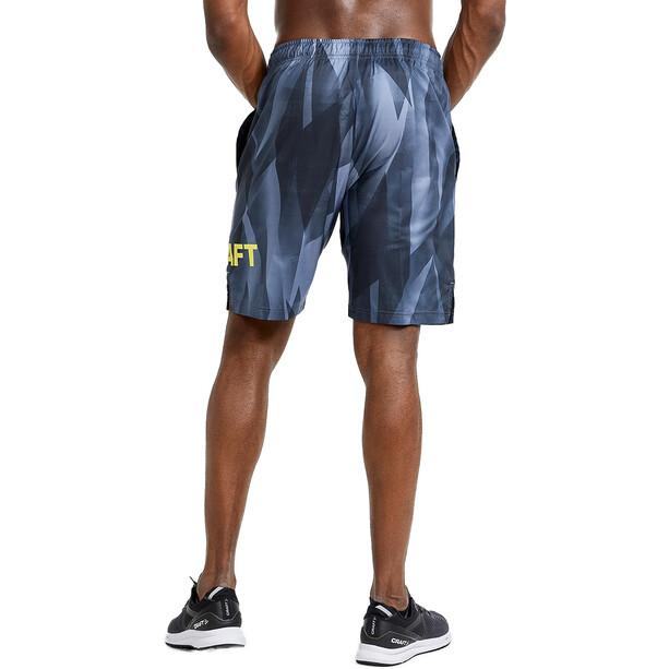 Craft Core Charge Shorts Men, print urban/black
