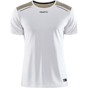 Craft Pro Hypervent Kurzarm T-Shirt Herren weiß/beige weiß/beige
