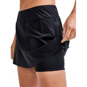 Craft Pro Hypervent 2in1 Skirt Women, musta musta