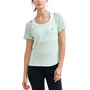 Craft Core Charge Cross Back Tee Women, turquoise