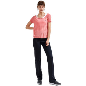 Craft Core Charge Cross Back T-Shirt Damen coral coral