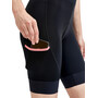 Craft ADV Offroad Bib Shorts Women, black/coral