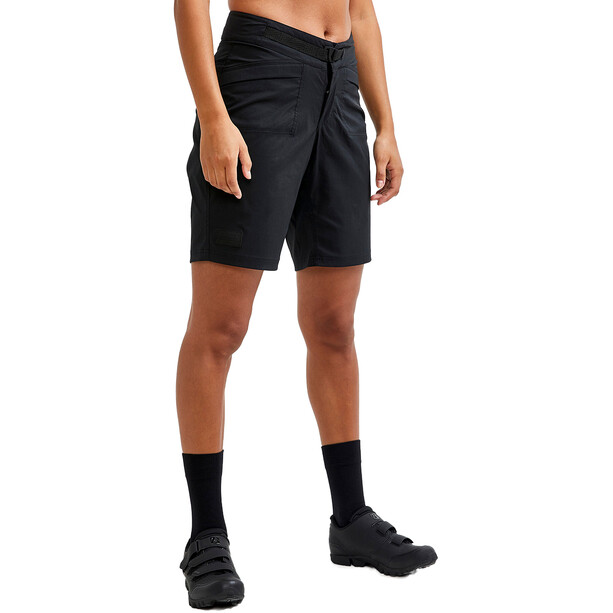 Craft Core Offroad XT Shorts mit Pad Damen schwarz