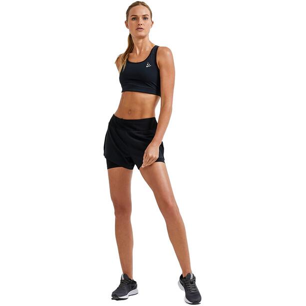 Craft ADV Essence 2-in-1 Shorts Damen schwarz