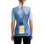 Craft ADV HMC Offroad Kurzarm Trikot Damen blau