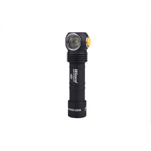 Armytek Wizard Pro v3 XHP50 Rechargeable Flashlight Magnet-USB, musta musta