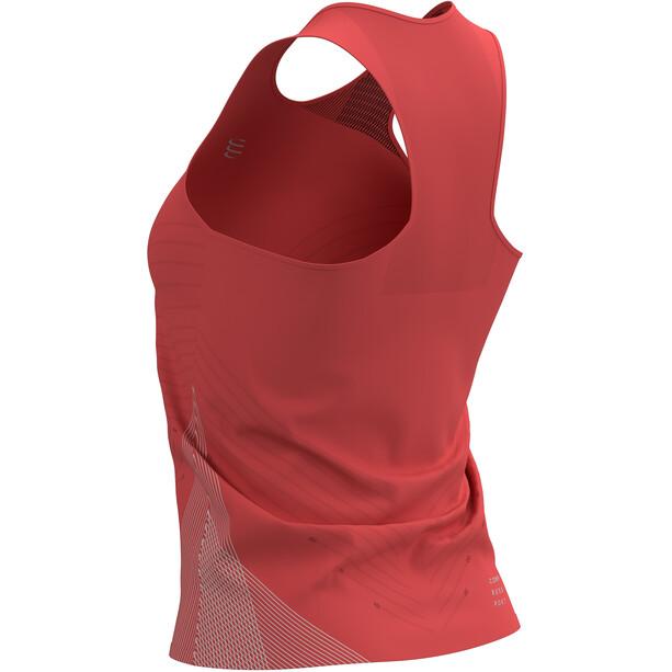 Compressport Performance Singlet Women, rouge