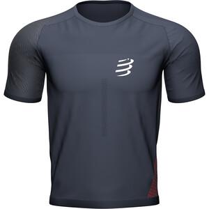 Compressport Performance SS Tshirt Men, gris gris