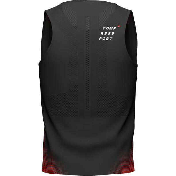 Compressport Pro Racing Singlet Men, black