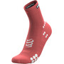 Compressport Pro Racing V3.0 Run High-Cut Socken rot