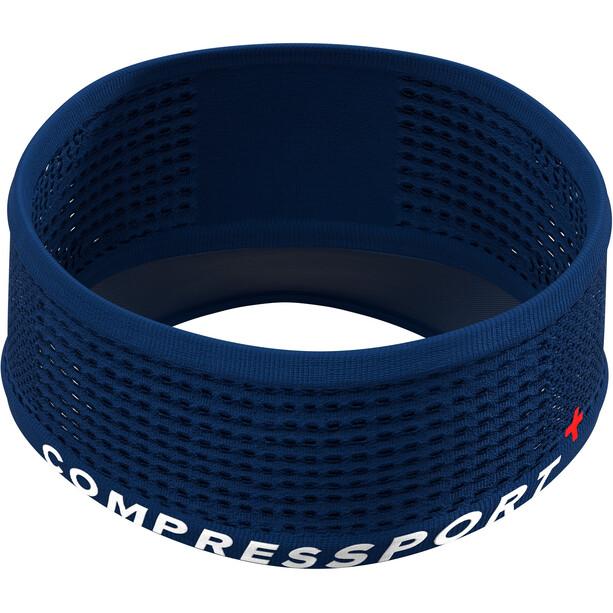 Compressport Spiderweb On/Off Pandebånd, blå