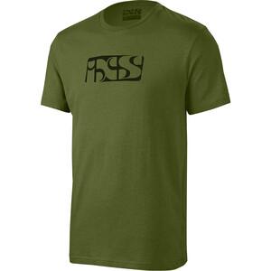 IXS Brand Tee T-Shirt Herren oliv oliv