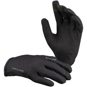 IXS Carve Handschuhe Kinder schwarz schwarz