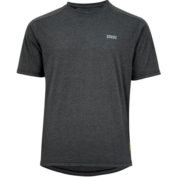 IXS Flow Tech Brand Logo SS Tee Men, noir