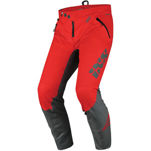 IXS Trigger Hose Herren rot/grau rot/grau