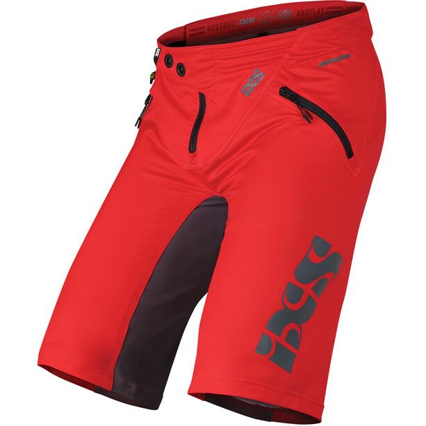 IXS Trigger Shorts Herren rot/grau