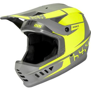 IXS XACT Evo Casque, gris/jaune gris/jaune
