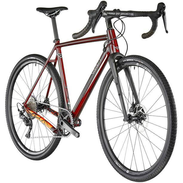 Vaast Bikes A/1 700C GRX gloss berry red