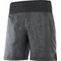 """Salomon XA Shorts 7"""" Men, harmaa/musta"""