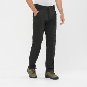 Salomon Wayfarer Zip Off Hose Herren black black
