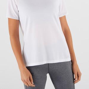 Salomon Sight Classic Kurzarm T-Shirt Damen white white