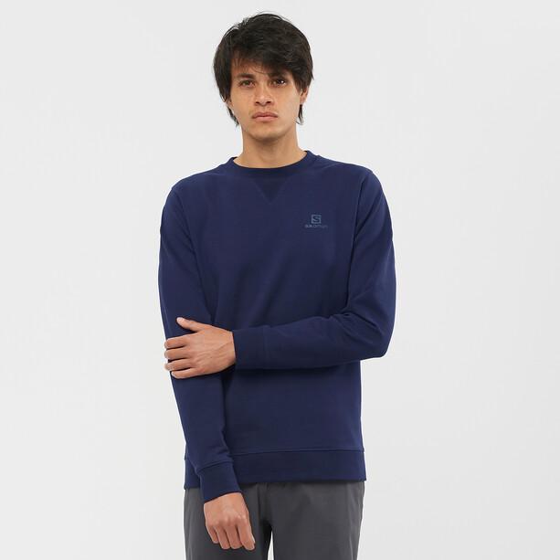 Salomon Shift Rundhals Pullover Herren blau