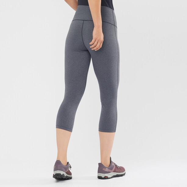Salomon Essential 5/6 Tights Damen black/heather