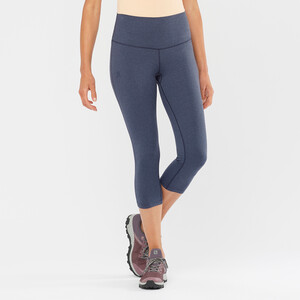 Salomon Essential 5/6 Tights Damen night sky/heather night sky/heather