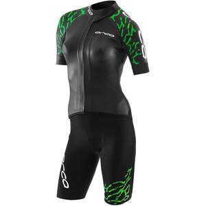 ORCA Swimrun Core Wetsuit Women svart/grön svart/grön