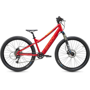 s'cool e-troX Race 24 9-S Kids red red