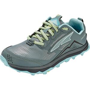 Altra Lone Peak 5 Trail Running Shoes Women grå/turkos grå/turkos